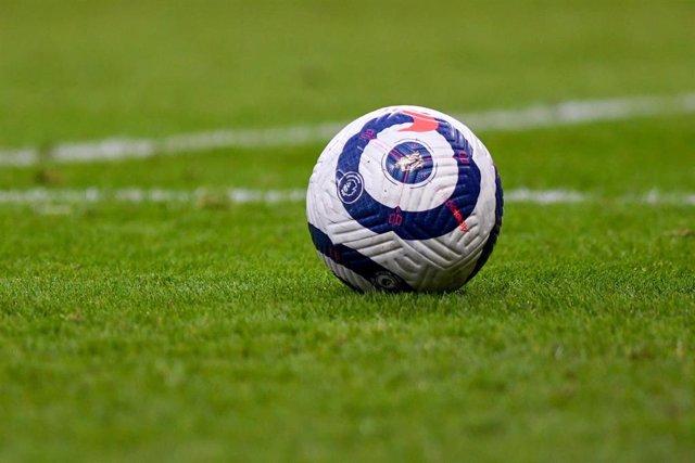 Archivo - Balón de la Premier League