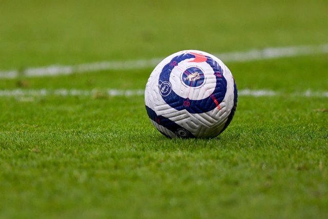 Archivo - Nike match ball during the English championship Premier League football match between Burnley and West Bromwich Albion on February 20, 2021 at Turf Moor in Burnley, England - Photo Malcolm Bryce / ProSportsImages / DPPI