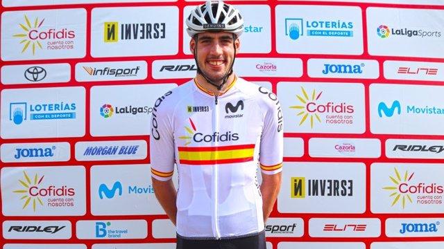 El ciclista español Jofre Cullell, uno de los representantes en bicicleta de montaña en los Juegos Olímpicos de Tokyo 2020