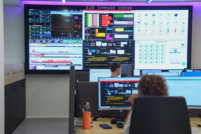 El Hospital Sant Joan de Déu estrena un centro de control para regular el flujo de pacientes