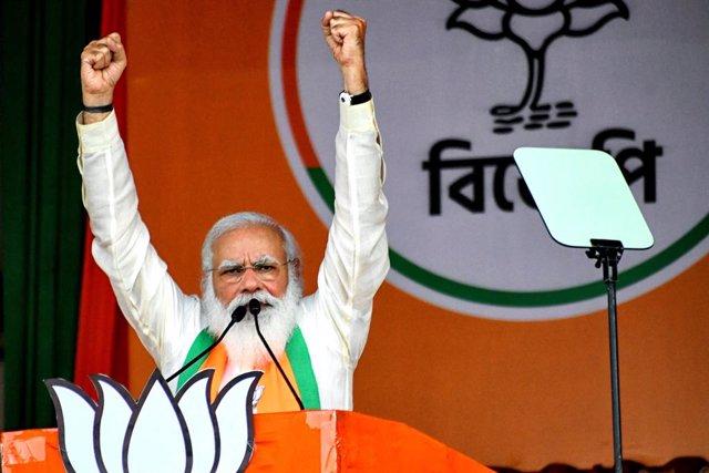 Archivo - El primer ministrso de India, Narendra Modi.