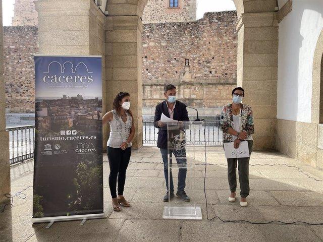 Presentación Cáceres, Ciudad de Congresos