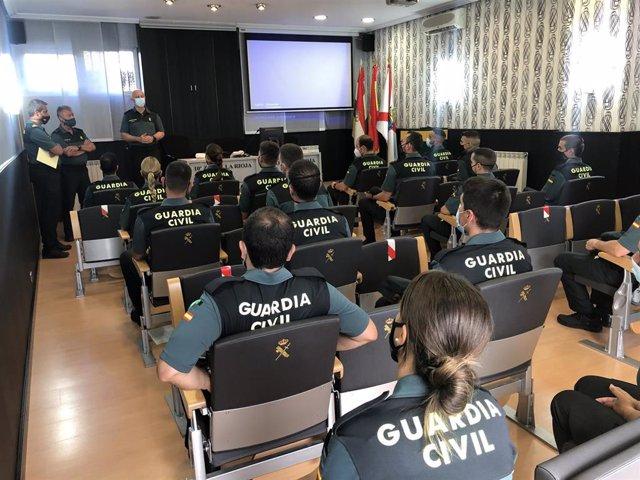 La Guardia Civil en La Rioja refuerza su plantilla con la incorporación de 23 nuevos agentes en periodo de prácticas