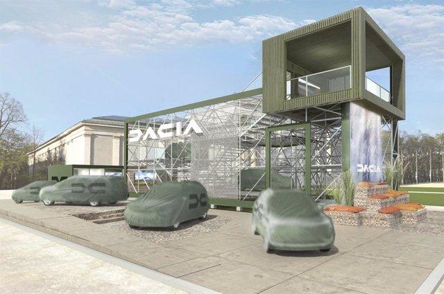 Vehículos cubiertos de Dacia.