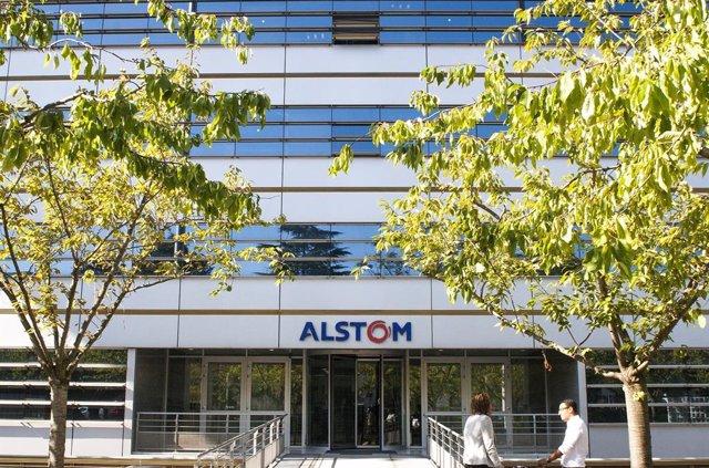 Archivo - Sede de Alstom