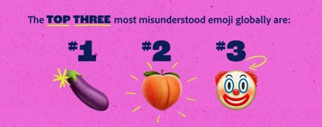 Los emoji más incomprendidos a nivel global