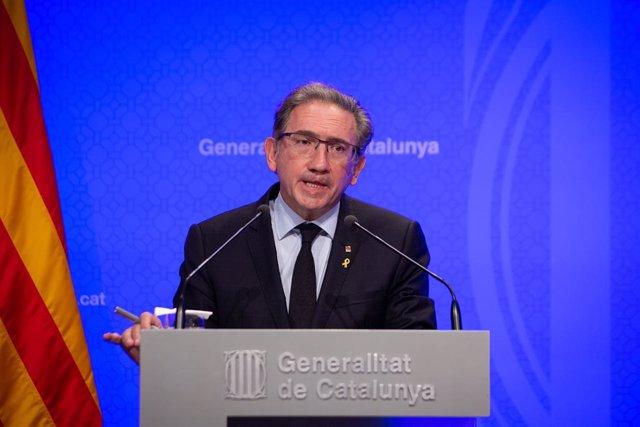 Arxiu - El conseller d'Economia, Jaume Giró