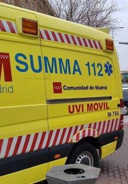 Ambulancia del Summa-112