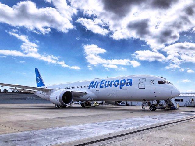 Archivo - Boeing  787-9 de AirEuropa