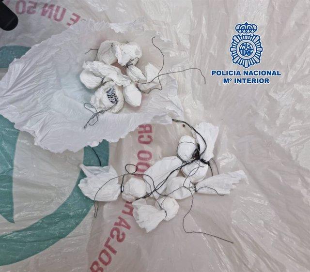 Imagen de archivo de cocaína intervenida por la Policía Nacional