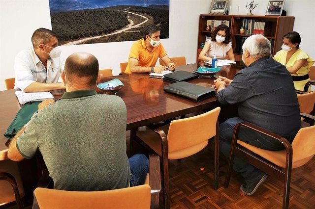 Reunión en la Delegación de Agricultura