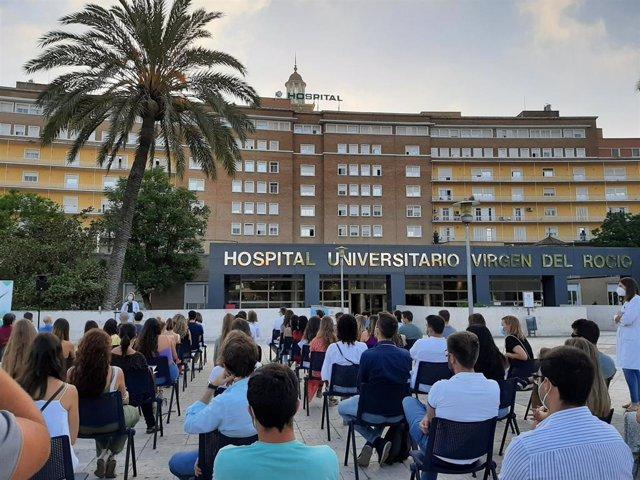 Acto de bienvenida organizado para los nuevos residentes del Hospital Virgen del Rocío