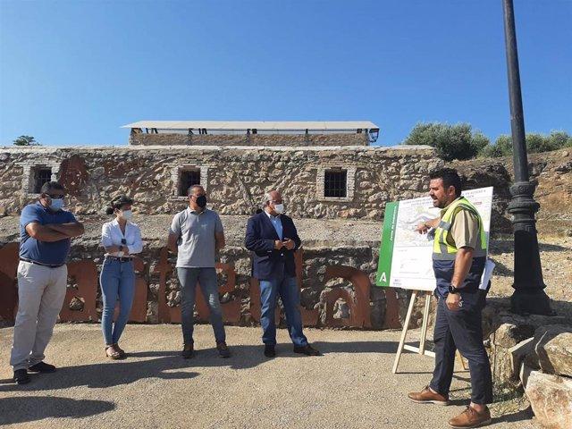 Presentación del proyecto de construcción de una glorieta en el acceso a Castellar por la A-312