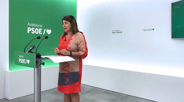 La alcaldesa de Almensilla y miembro de la Ejecutiva del PSOE de Sevilla, Agripina Cabello