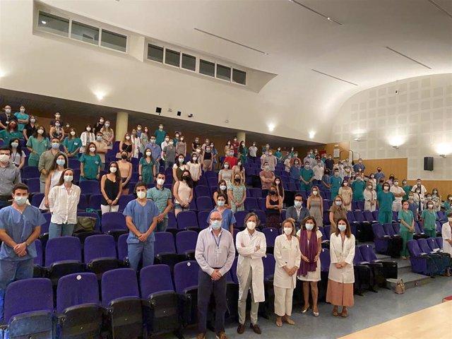 Acto de bienvenida a los nuevos Especialistas Internos Residentes del Hospital Reina Sofía.