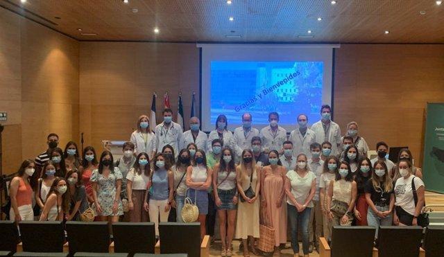 Parte de los 59 residentes del Área de Gestión Sanitaria de Jerez, Costa Noroeste y Sierra.