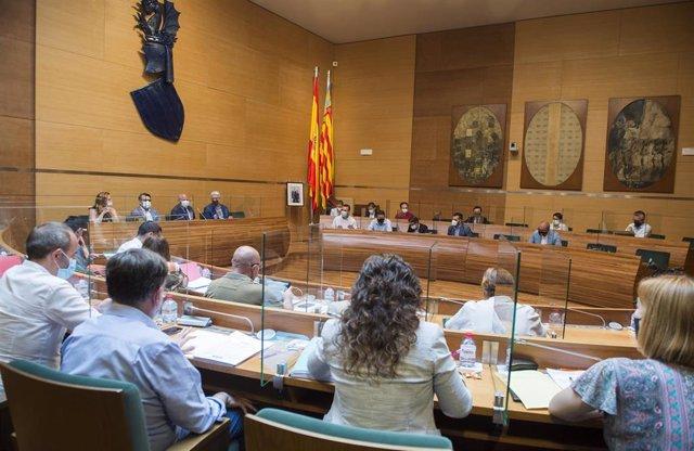 Pleno de la Diputación de Valencia