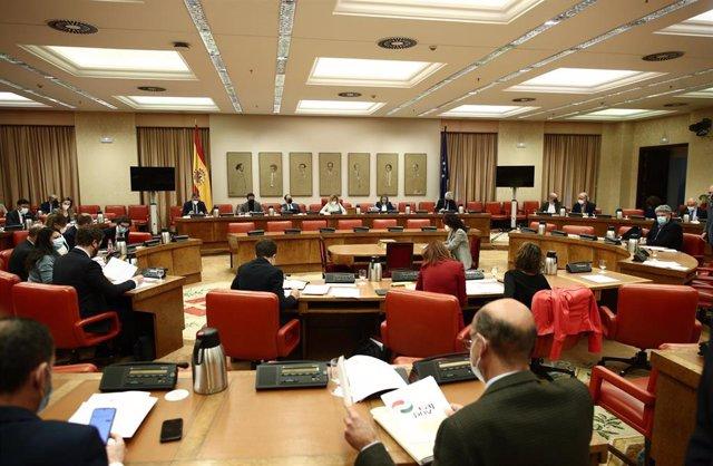 Archivo - Vista general durante una sesión de la Diputación Permanente en el Congreso de los Diputados, en Madrid (España), a 25 de enero de 2021.
