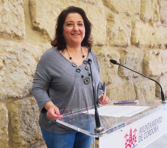 La concejal del PSOE en el Ayuntamiento de Córdoba Alicia Moya.