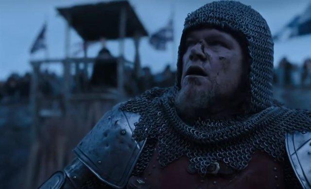 Tráiler de Duelo Final, la nueva película de Ridley Scott con Matt Damon, Ben Affleck, Jodie Comer y Adam Driver
