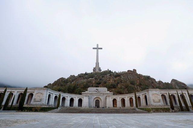 Plano general de la Basílica del Valle de los Caídos, a 24 de octubre de 2019.