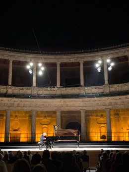 Actividad del Festival de Música y Danza de Granada.