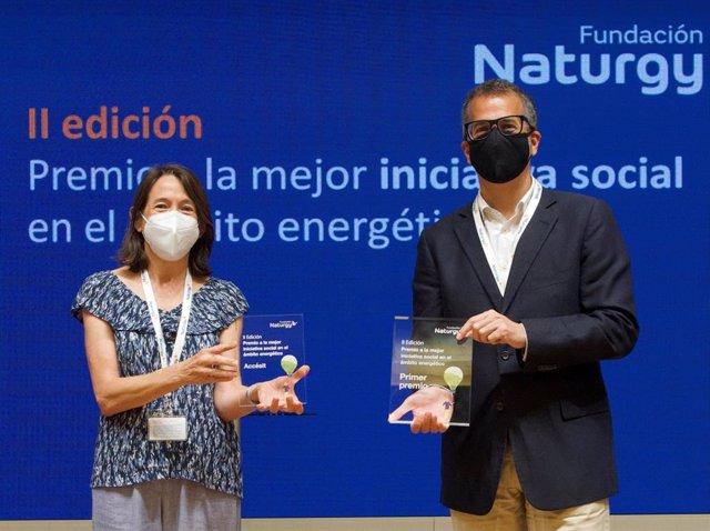 Fundación Naturgy reconoce la labor de Fundación Exit en la formación de jóvenes de entornos vulnerables