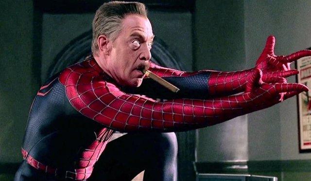 Spider-Man: Filtrada la prueba de J.K. Simmons para ser J. Jonah Jameson en la trilogía de Sam Raimi