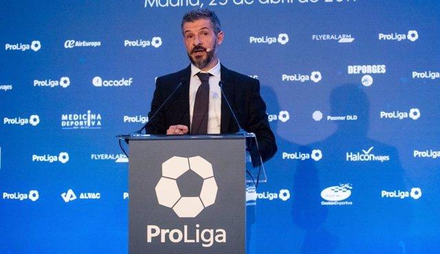 Archivo - David Jiménez, presidente de ProLiga