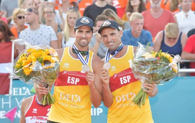 Archivo - Herrera y Gavira, bronce en el Campeonato de Europa