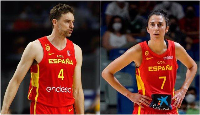 Pau Gasol y Alba Torrens