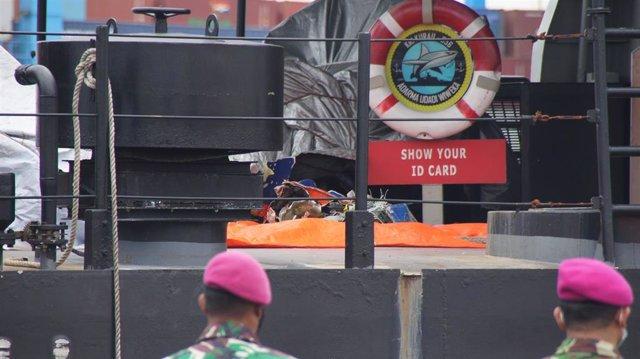 Archivo - Barco encontrado en enero de 2021 dado por desaparecido en Indonesia