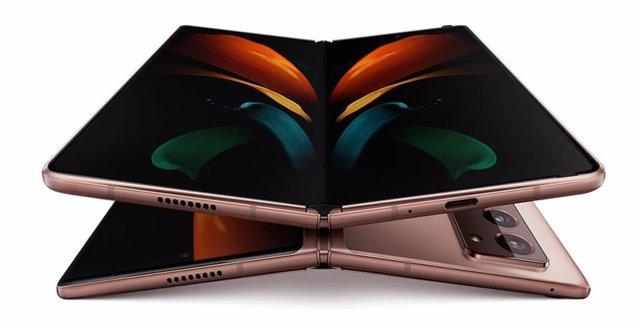 Archivo - Samsung Galaxy Z Fold 2