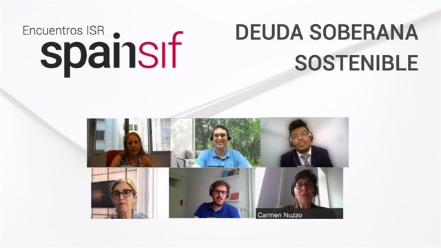 Los participantes del encuentro ISR 'Deuda soberana sostenible'