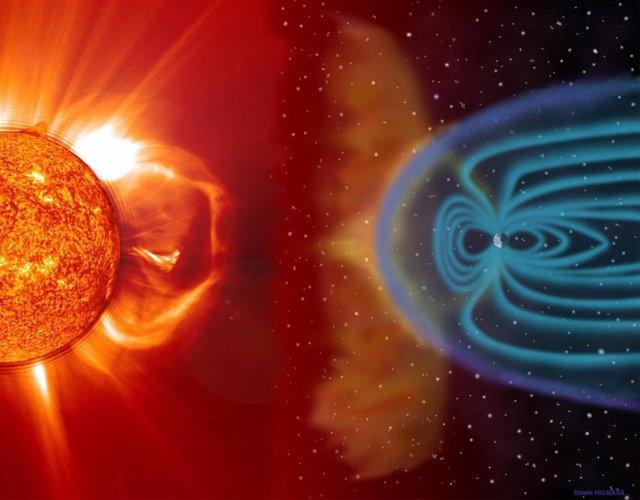 Cuando el Sol evolucione para convertirse en una estrella gigante roja, la Tierra podrá ser tragada por la atmósfera de nuestra estrella