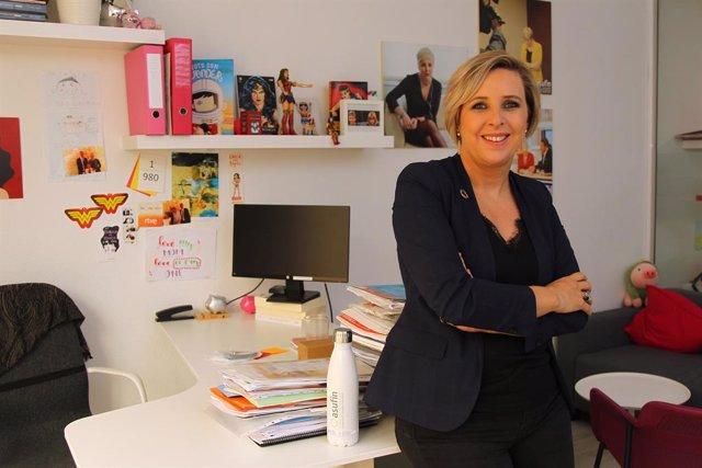 Archivo - La presidenta de Asufin, Patricia Suárez. Asociación de Usuarios Financieros.