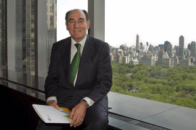 Archivo - Ignacio Sánchez Galán En Nueva York