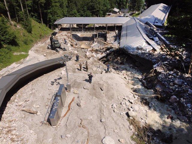 Imagen de archivo de las inundaciones en Alemania.