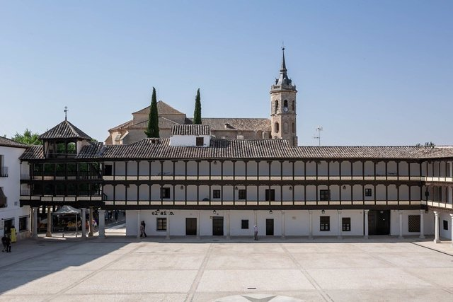 La Plaza Mayor de Tembleque