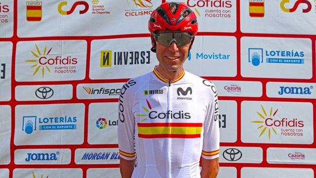 El ciclista de montaña español David Valero, olímpico en Tokyo 2020