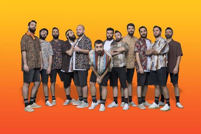 Archivo - La banda valenciana La Fúmiga