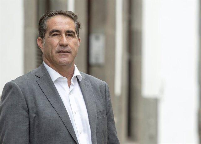 Archivo - Francis Candil, portavoz de Coalición Canaria de Las Palmas de Gran Canaria