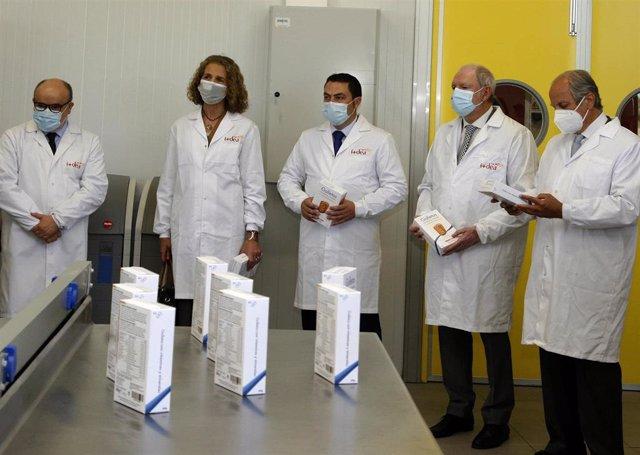 Visita a I+Dea, el centro de investigación y desarrollo de Cerealto Siro Foods, en El Espinar (Segovia).