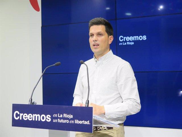 El senador del PP de La Rioja Carlos Yécora