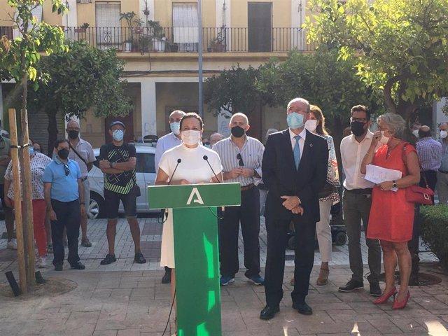 La Junta y el Ayuntamiento de Málaga destinarán 4,8 millones para la rehabilitación de viviendas en Carranque