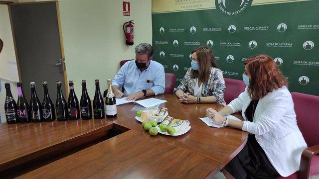La DOP Sidra de Asturias se adhiere al International Cheese Festival y contará con su propio Cider LAB.