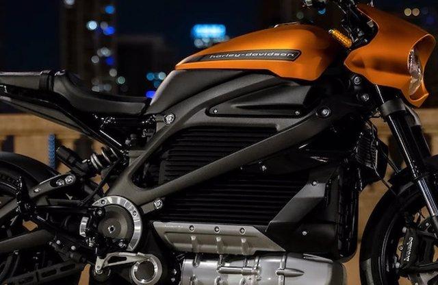 Archivo - Moto de Harley-Davidson.