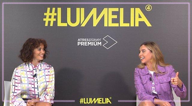 """Carol Rovira y Paula Usero reivindican Lumelia: """"Somos la única serie protagonizada por dos mujeres que se quieren"""""""