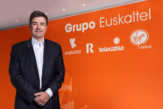 Archivo - El consejero delegado de Euskaltel, José Miguel García