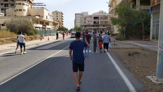 Archivo - Reapertura de la zona de Varosha, en el norte de Chipre